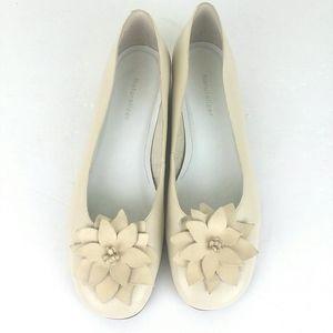 Naturalizer Shoes - Naturalizer Leather Slip On Loader Ballet Flat